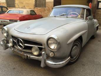 Mercedes-Benz 190 SL in Originalzustand *Matching Numbers*