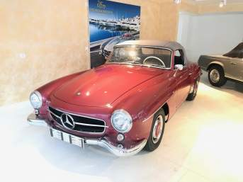 Mercedes-Benz 190 SL Roadster mit 12 Monate Garantie
