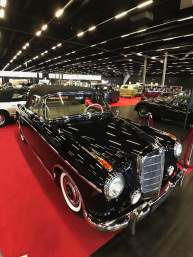 Mercedes Benz 220 S Ponton Cabrio VOLLRESTAURIERT